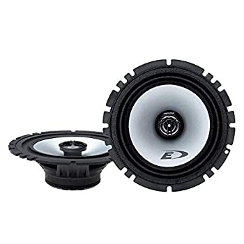 Alpine SXE-1725S 80W 6.5  2-Way Type-E Coaxial Speakers W/ Mylar-Titanium Tweeters,black