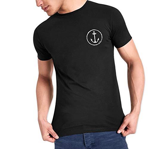 VIENTO Team Herren T-Shirt (Schwarz, medium)