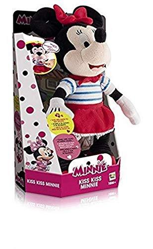 IMC Toys - 181557 - Peluche Interactive Sonore - Minnie Kiss Kiss