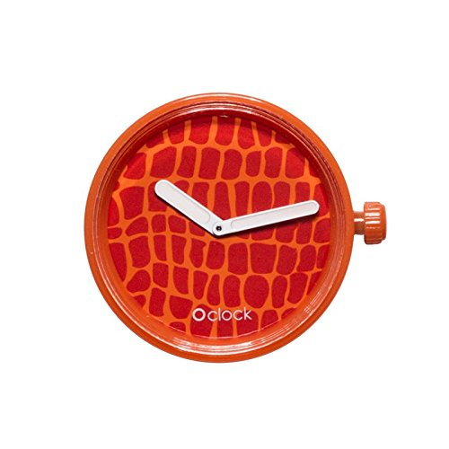 O'Clock Uhr Vollspot Safari, Krokodil-Muster