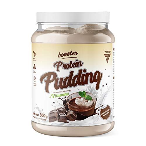 Trec Nutrition Booster Protein Pudding 360G Jar Chocolate 360 g
