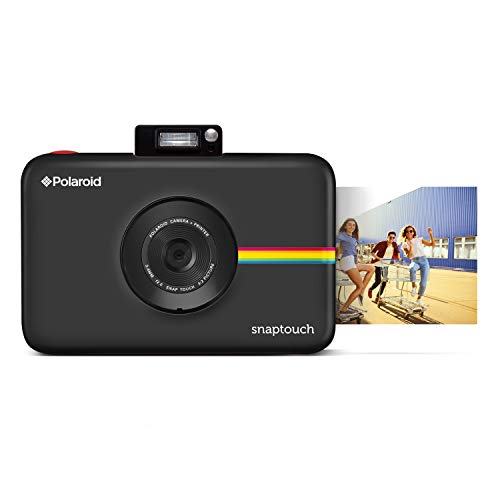 Polaroid SNAP Touch 2.0 13MP Tragbare Digitale Sofortbildkamera mit LCD Touchscreen Display, Zink Null Tinte Drucke 2x3, Schwarz