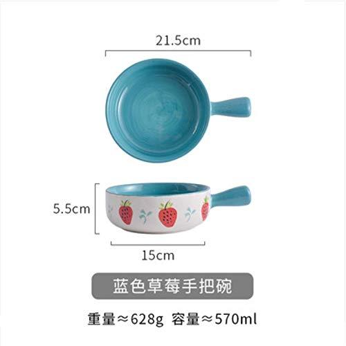 Magracy Bowl Keramik Backform Niedlich Girly Herz Fruchtsalat Mikrowelle Haushalt Ravioli Reisschale
