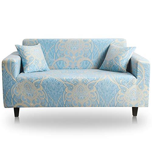 NOBCE Funda de sofá Funda de sofá elástica para Sala de Estar Sofá de Esquina seccional Moderno Funda de sillón Funda de sofá 190-230CM