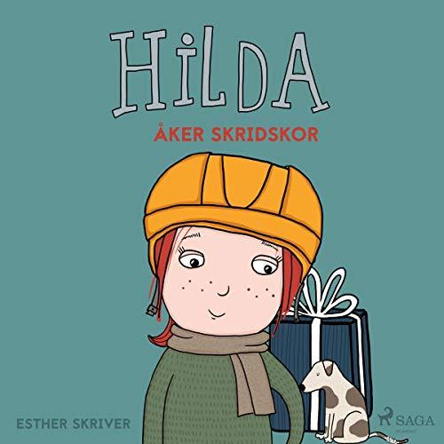 Hilda åker skridskor audiobook cover art