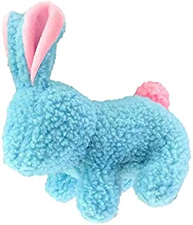 PetSport Shearling Fleece Durable, Super Soft Dog Toy with Squeaker Made for Medium & Large Dogs (Bunny)