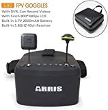 ARRIS EV800 5 Inches 800x480 FPV Goggles Video Glasses 5.8G 40CH Raceband...