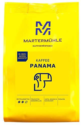 Martermühle I Kaffee Panama Boquete I Kaffee ganze Bohnen I Premium Kaffeebohnen I Kaffeebohnen aus Panama I geröstete Kaffeebohnen I Kaffeebohnen säurearm I 100% Arabica I 250g