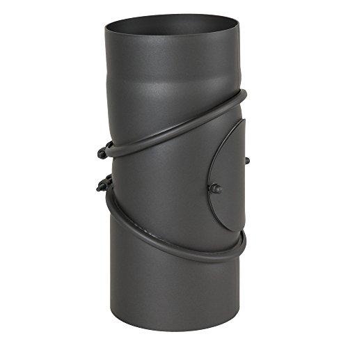 Ø 130 mm Coude 0 - 90 ° pivotant - Gris fonte