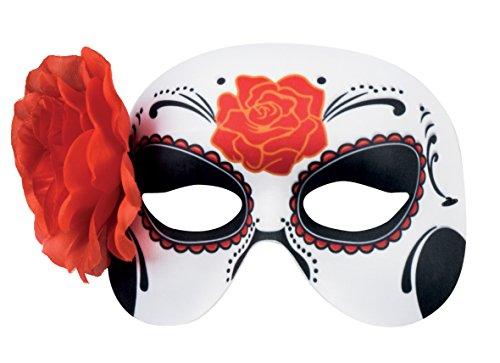 Boland 97524 Masque pour les yeux Dia de los Muertos La Blanca, autres jouets