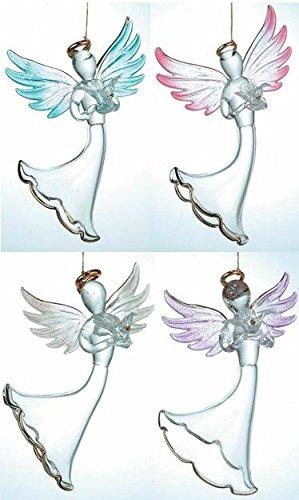 StealStreet ss-ug-hg-110z ángel decoración Figura Decorativa, Juego de 4