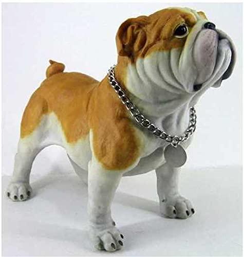 Retired C & F Trading Co. Standing Bulldog Puppy Figurine