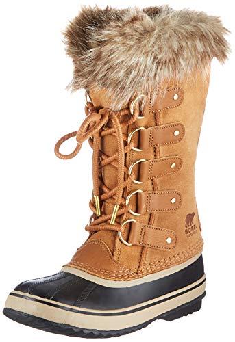 Sorel Women's Joan of Arctic Boot - Rain and Snow - Waterproof - Black, Camel Brown - Size 8