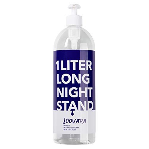 Gel lubricante Loovara XXL (1000ml) con aloe vera | apto