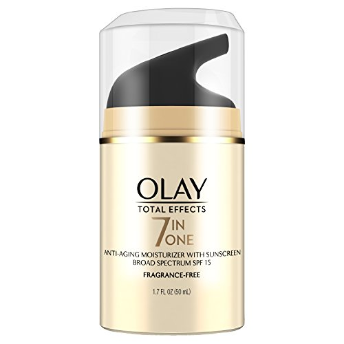 Olay Total Effects 7-in-1 Anti-Aging UV Moisturizer with Sunscreen SPF 15, 1.7 Fl Oz