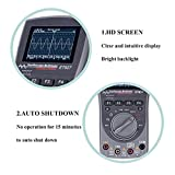 ET827 Smart 2 en 1 Digital 40MHz 200Msps/S osciloscopio 6000 cuentas True RMS multímetro probador voltímetro medidor de voltaje