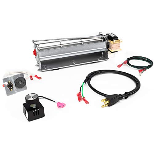 FireplaceBlowersOnline GFK4 GFK4A FK4 Fireplace Blower Kit for Heatilator