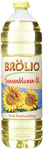 Brölio Sonnenblumenöl, 15er Pack (15 x 1 l)