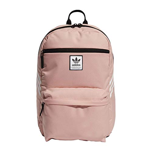 adidas Originals National SST Backpack, Trace Pink/White, One Size