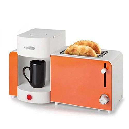 Princess Coffee Maker Espresso Machine Toaster All-in-One Set Orange 252183 220V / 60Hz