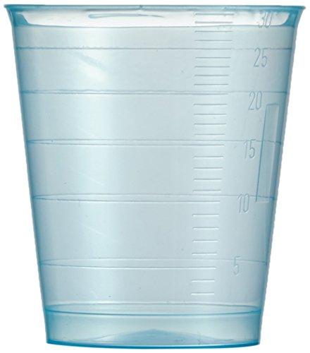 NeoLab 2-0111 beker van PP, 30 ml, blauw (75 stuks)