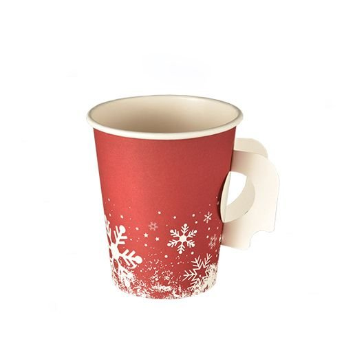 PAPSTAR 85494 Papp-Trinkbecher Winter Time, 0,2 l