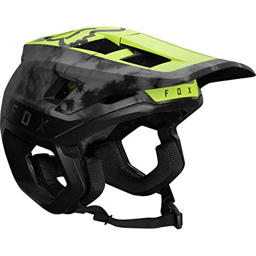 FOX Dropframe Pro MIPS MTB Elevated Mountain Bike Helmet Day Glo Yellow Large