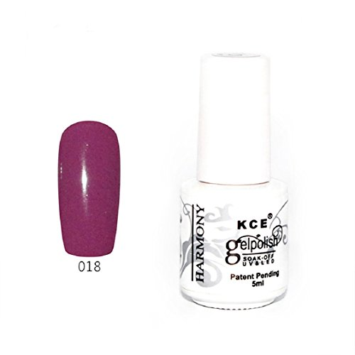 Vovotrade ❃❃ Nail Polish pur Gel UV Et Bright LED colorées Couleurs 5ML_A