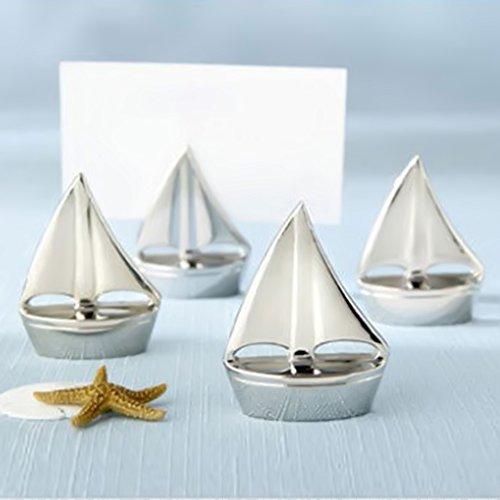 Sail Boat Table Card Number Holder Stand Tabletop Recipe Menu Holder For Restaurants, Weddings, Banquets