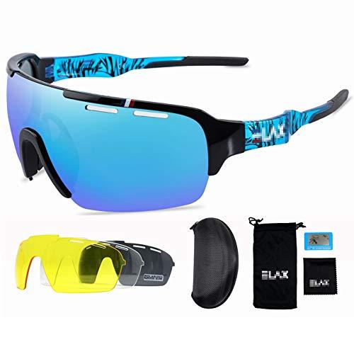 ZYQDRZ Gafas De Ciclismo Polarizadas De Medio Marco, Gafas De Sol para Hombres Y Mujeres, Adecuadas para Andar En Bicicleta, Correr, Escalar, Conducir, Pescar,#1