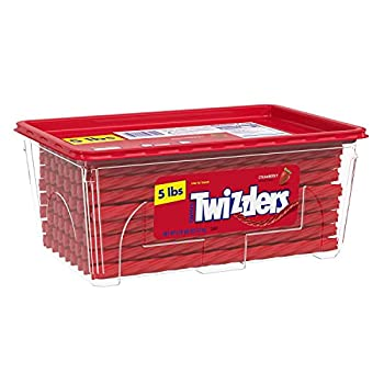 TWIZZLERS Twists Strawberry Flavored Chewy Candy Easter 80 oz Container