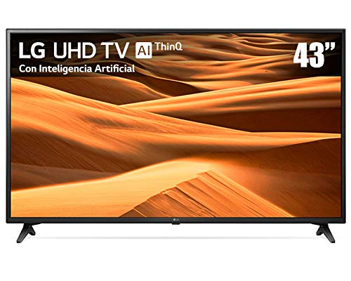 Pantalla LG 43¨ 4K UHD con Inteligencia artifical AI ThinqQ (2019) 43UM7100PUA