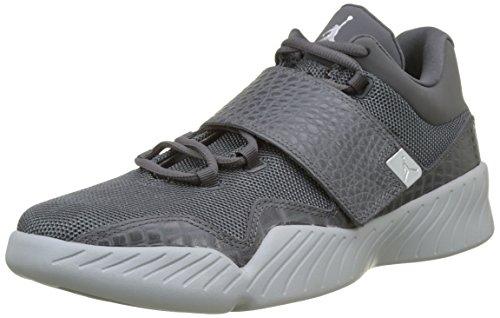 Nike 854557-002, Zapatillas de Baloncesto Hombre, Gris Oscuro / (Dark Grey/Metallic Silver/Wolf Grey), 43 EU