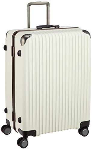 [カーゴ] スーツケース 受託手荷物無料サイズ ロータリーロック 消音キャスター TW72 保証付 100L 72 cm 5.4kg アイボリー
