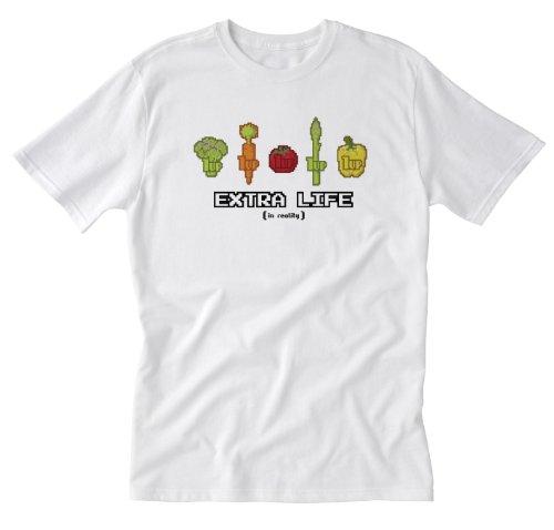 Barn Eleven, Extra Life 5-UPS White Small T-Shirt