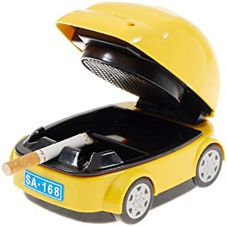 BSK Car Shaped Style Design Electric Smokeless Ashtray Case by BoatShop