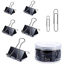 160PCS Binder Clips, Paper Clips - $2.99!