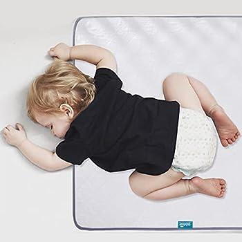 Waterproof Protector 27  x 38  Non-Slip & Durable Wateproof Pad Mat for Baby Pack n Play/Crib/Mini Crib