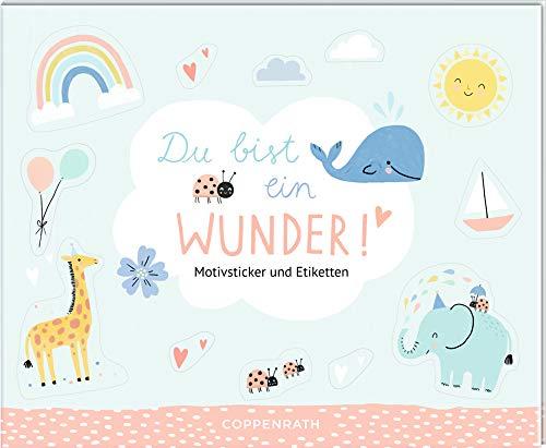 Stickerbuch - Du bist ein Wunder!: Motivsticker und Etiketten