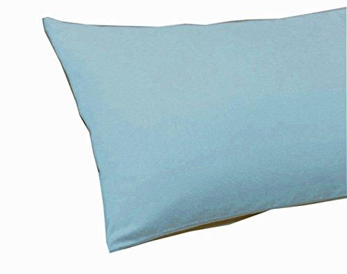 SASA CRAZE Bedding Standard Housewife Pillow Case Pair (Sky Blue)