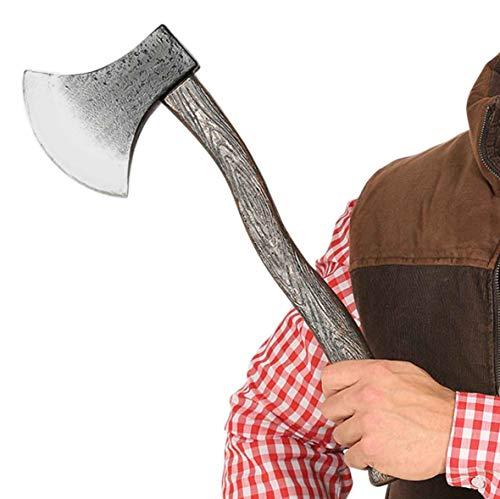 Guirca Axt Beil aus Steinzeit dem Mittelalter Halloween Horror Party Zubehör Spielzeug ca. 45 cm