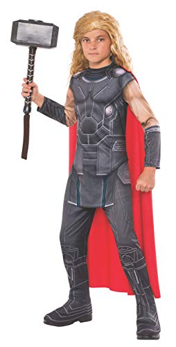 Avengers - Disfraz de Thor Ragnarok infantil, 3-4 años (Rubie'S Spain 630783-S)