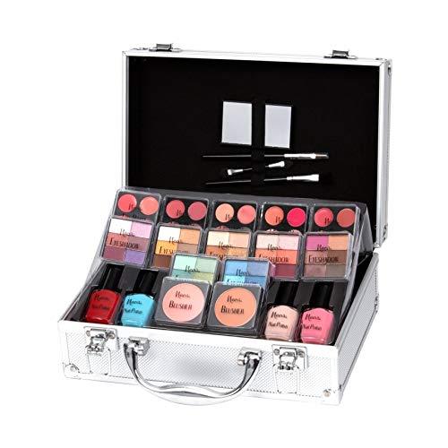 Keeva Cosmetics - Set di trucchi Diva, 72 pezzi
