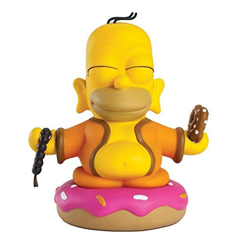 Kidrobot The Simpsons Homer Buddha Mini Figure