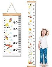 مخطط نمو الطفل لديكور الحائط ومسطرة قياس ارتفاع الجدار للأطفال الصغار