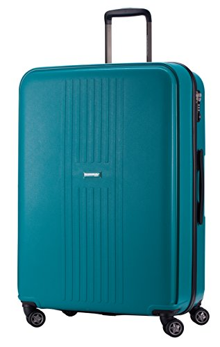 HAUPTSTADTKOFFER - F-Hain - Valigia Rigida, Taglia 77 cm, 110 Litri, Colore Blu