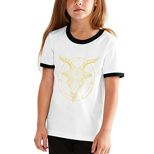 Satanic Goat Head with Cross Men Printed Vest Sports Tank-Top Shirt Leisure Tee Sleeveless Shirts