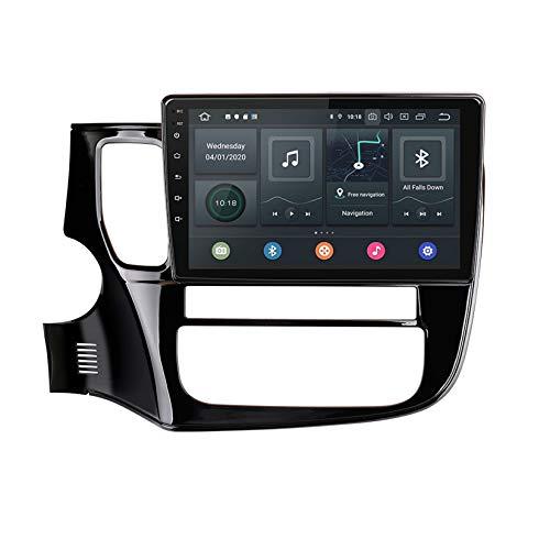 TypeBuilt para Mitsubishi Outlander 3 2012-2018 Autorradio Autoestereo Pantalla Táctil Capacitiva GPS Navegación Control del Volante Unidad Principal Radio Video Player WiFi Bluetooth SWC