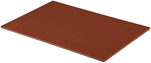 Tabla de cortar profesional, grande, para catering, preparación de alimentos, color marrón
