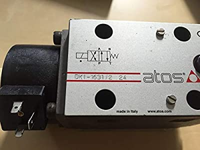 Atos Dki-1631/2-24 Hydraulic Directional Control Valve Sp-cai-120/60/80 Dk1 S5 from Made in usa